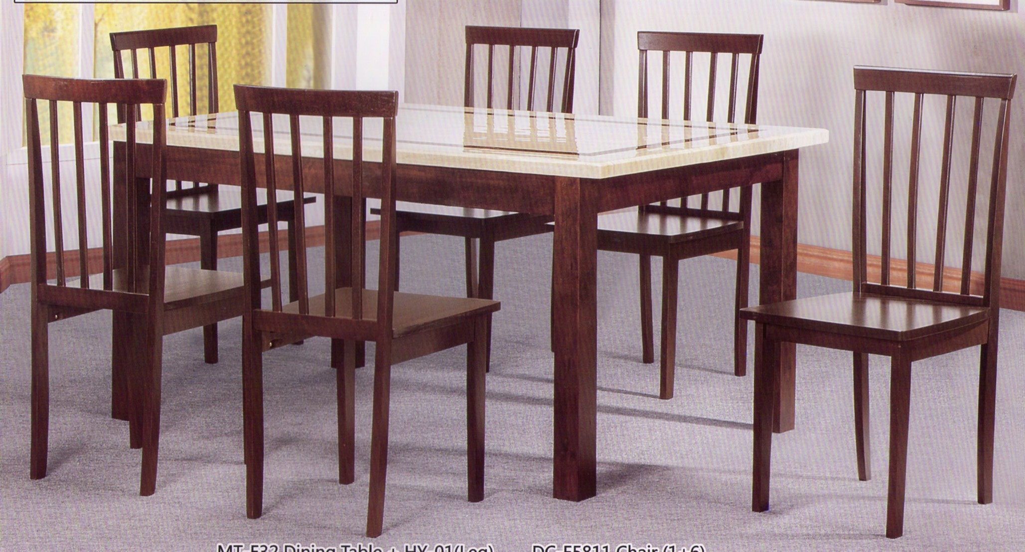 New Dining Table Set Malaysia Light of Dining Room : MT E32 022 from lightofdiningroom.com size 2057 x 1109 jpeg 508kB
